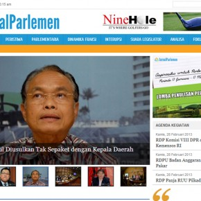 Jurnal Parlemen Website